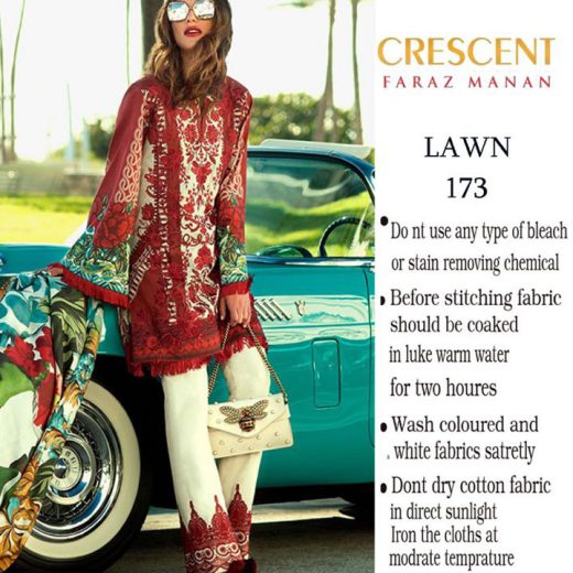Faraz Manan Lawn Collection 2018