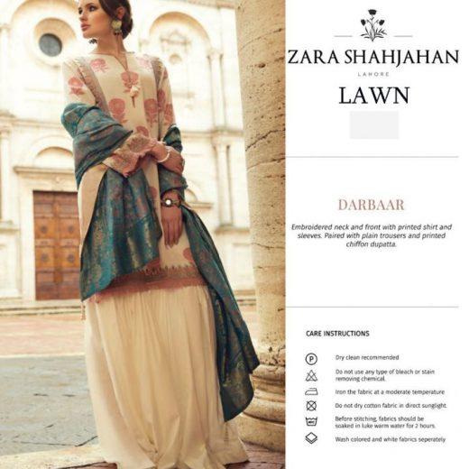 Zara Shahjahan Lawn Collection 2018
