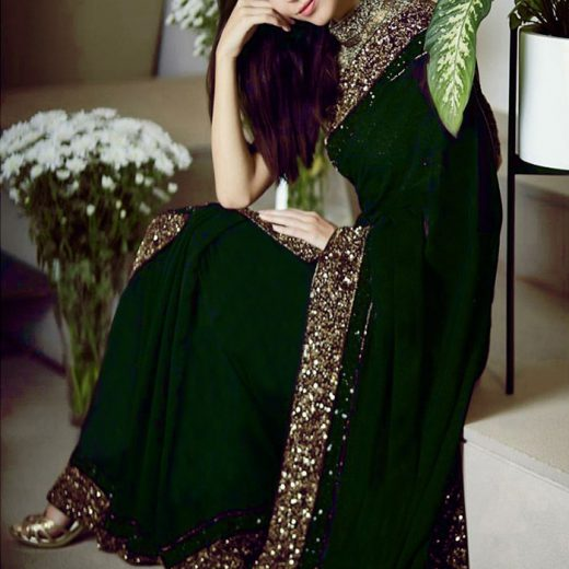 Myntra Chiffon Saree collection 2018