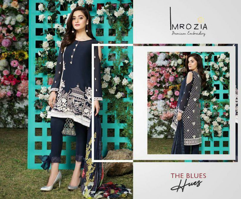 Imrozia Eid Lawn Collection 2018