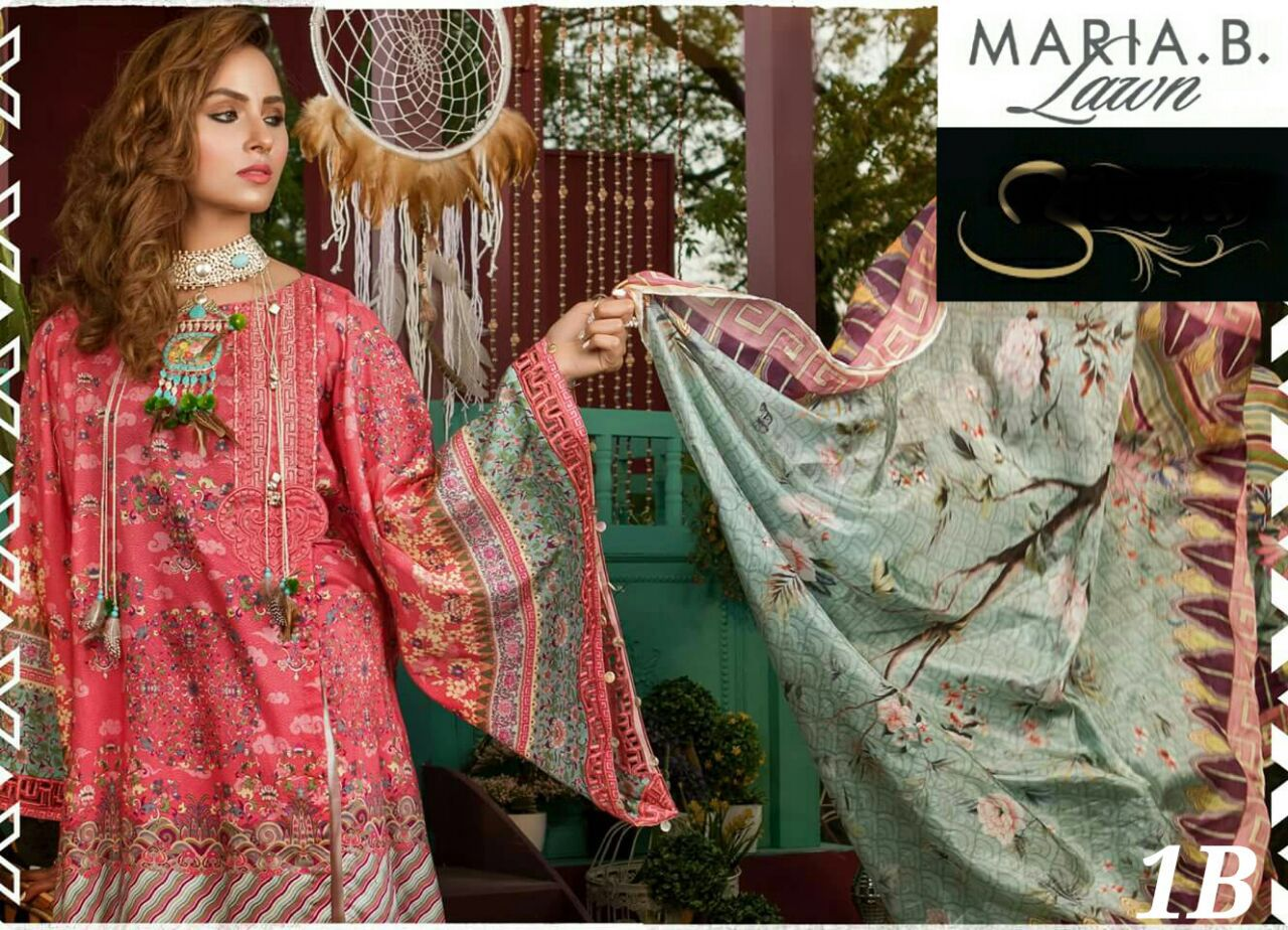 728249c8ec4 Post navigation. Previous Product Next Product · Home   Shop   Summer Suits    Maria B Eid Lawn Collection 2018