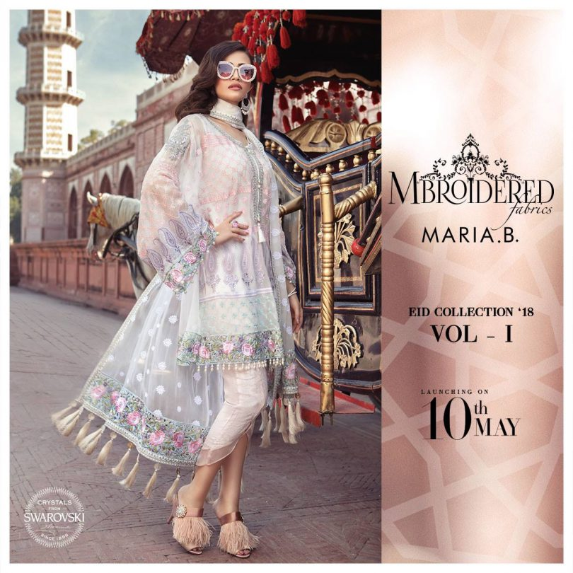 Maria B Luxury Eid collection 2018