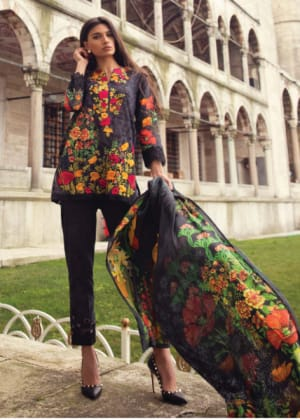 Mina Hassan Original Lawn Eid Collection 2018