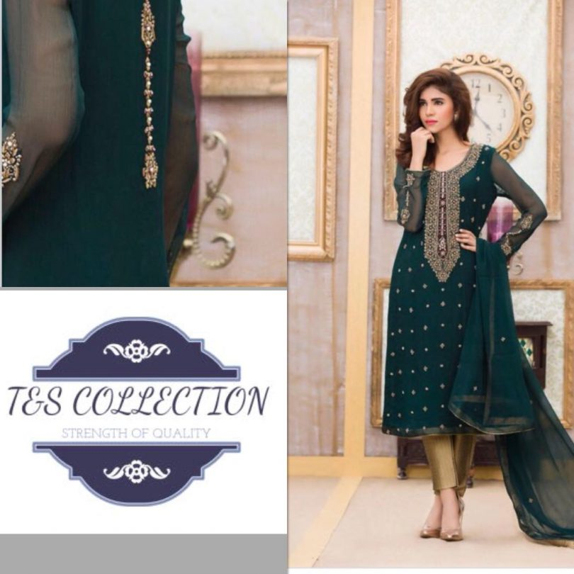 T&S Eid Chiffon Collection 2018