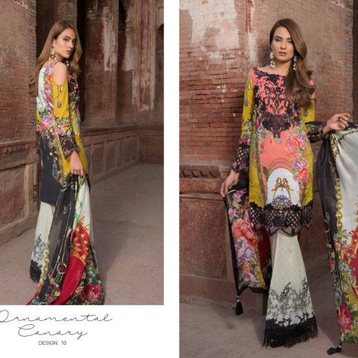 Rani Emaan Luxury Lawn Collection 2018