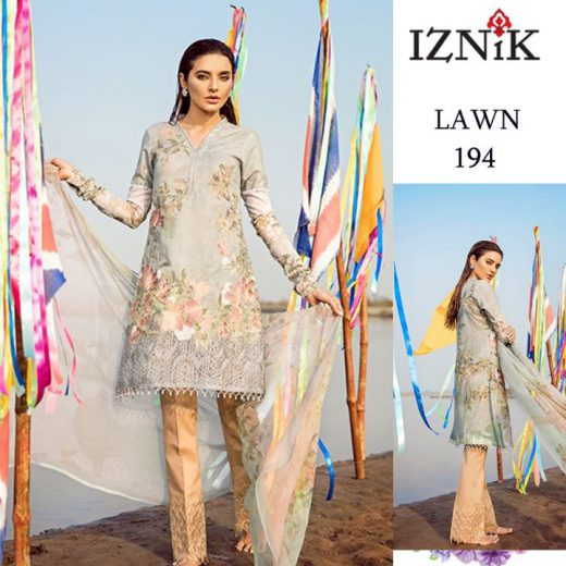 Iznik Eid Lawn Collection 2018
