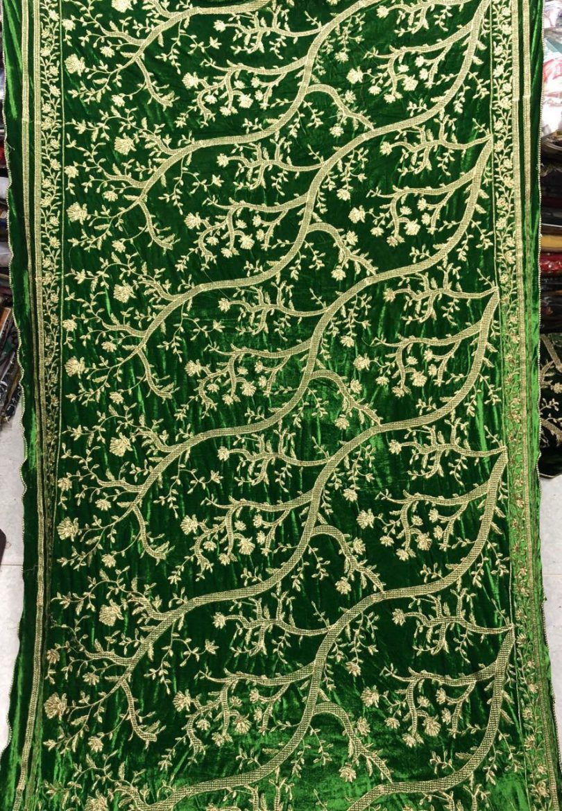 Latest Velvet Shawls Collection 2018