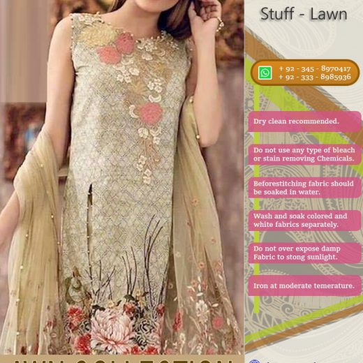 SS Lawn Suit Collection 2018