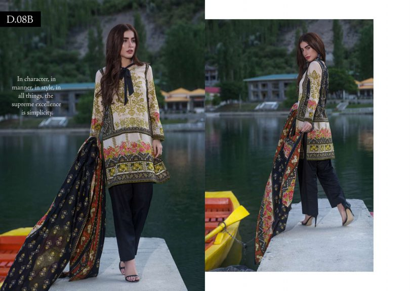 Dawood Three Star Original Lawn Collection 2018