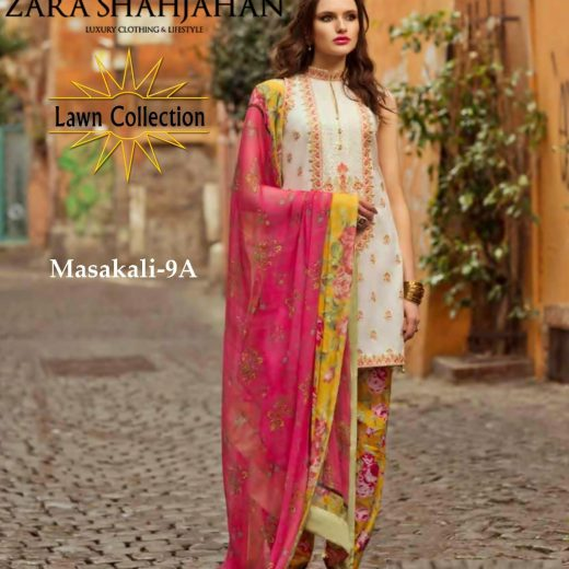 Zara Shahjahan Lawn Eid Collection 2018