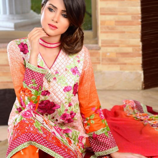 Zebaish Lawn Eid Volume 2 2018