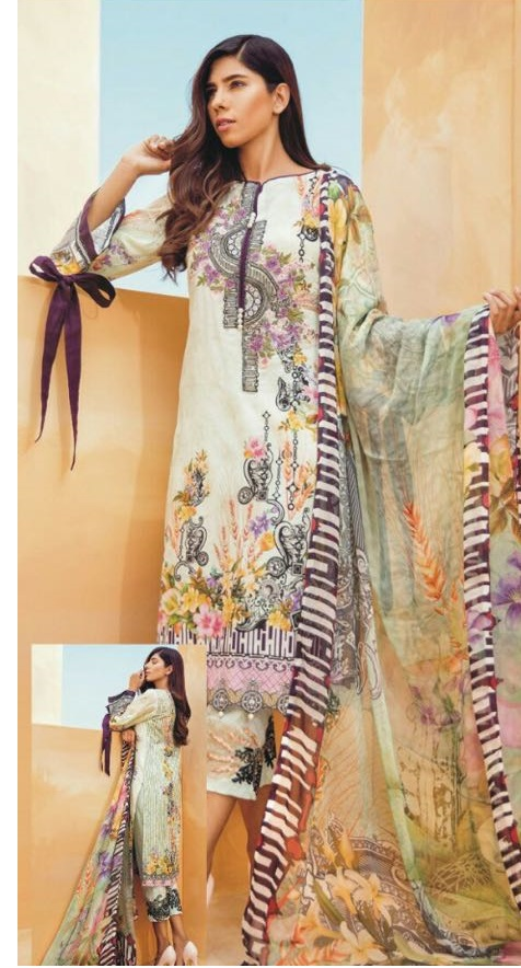 Firdous Lawn Eid Collection 2018