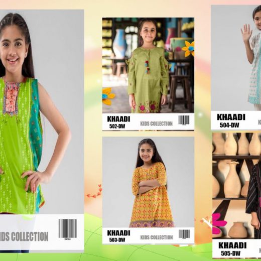 Kids Khaadi Eid Collection 2018