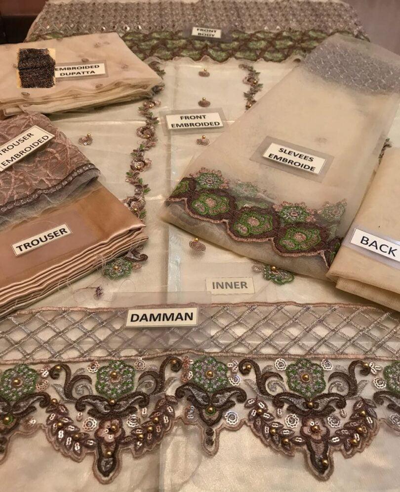 Nomi Ansari Bridal Suit Collection 2018