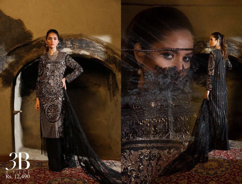 Sana Safinaz Bridal Suit Collection 2018