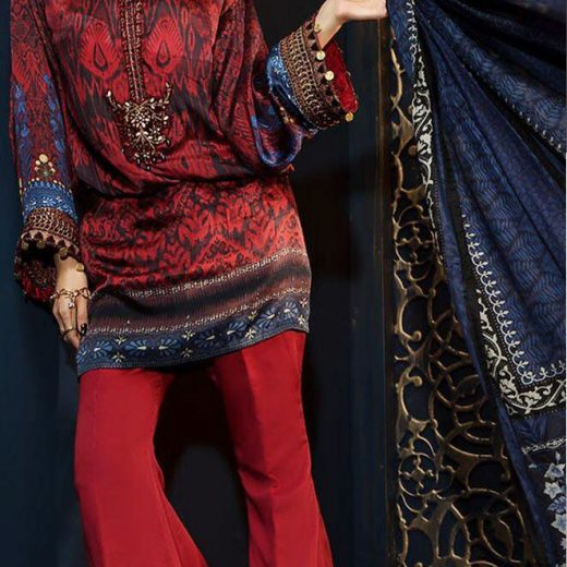 Maria B Silk Suit Collection 2018