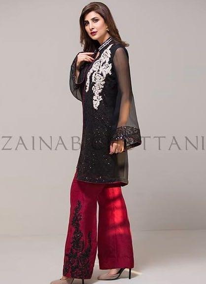 Zainab Chottani Net Collection 2018