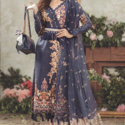 Marwa Lawn Collection 2018