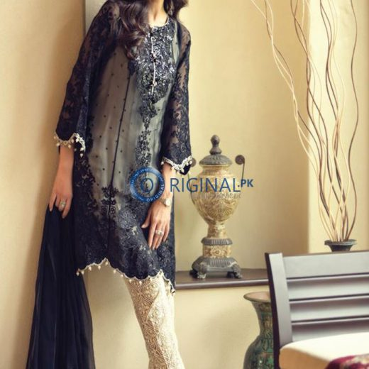 Maria B Chiffon Suit Collection 2018