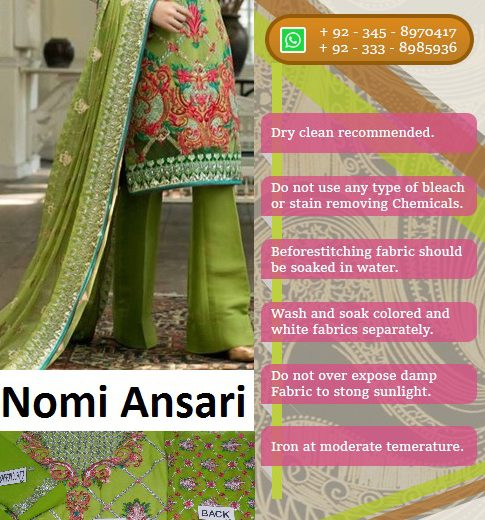 Nomi Ansari Bridal Suit Collection 2018