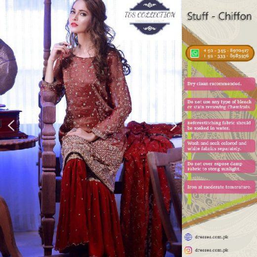 T&S Chiffon Suit Collection 2018