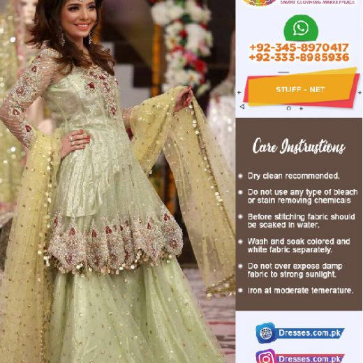 Kashees Bridal Sharara 2018