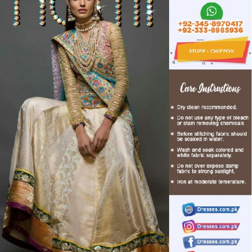 Nomi Ansari Bridal Collection 2018