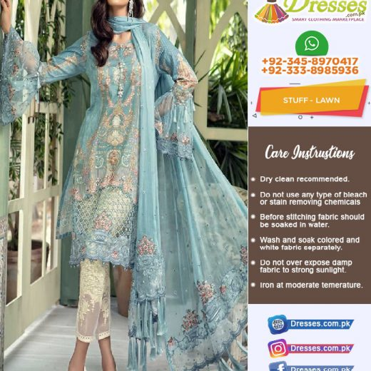 Maria B Lawn Suit Collection 2018