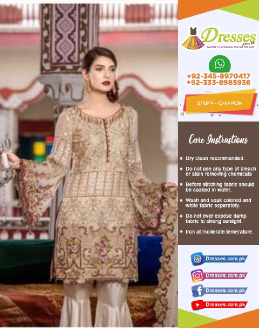 Maryum Chiffon Suit Collection 2018