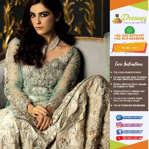 Ammara Khan Net Suit Collection 2018
