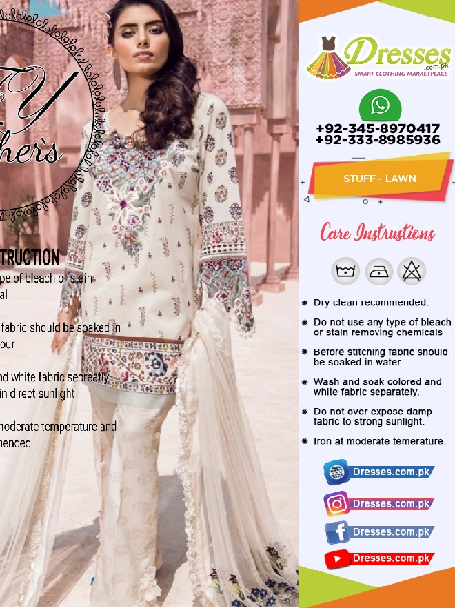 Teena Durrani Lawn Collection 2018