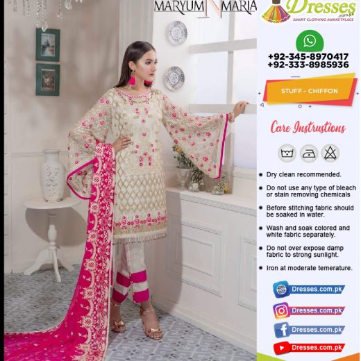 maryam & Maria Eid Collection 2018