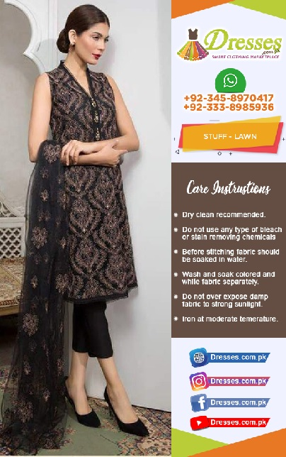 Bareeze Lawn Eid Collection 2018