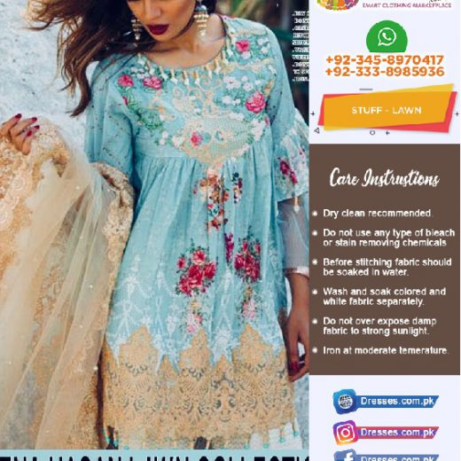 Mina Hassan Lawn Eid Collection