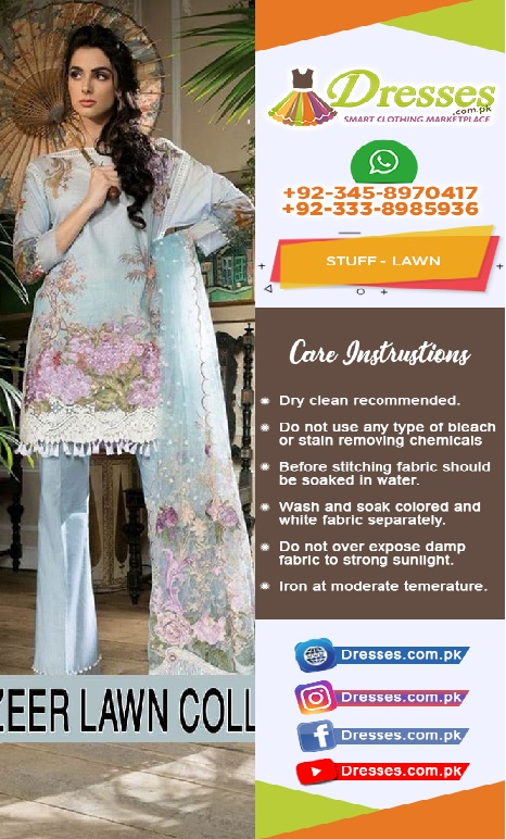 Sobia Nazir Eid Lawn Collection 2018