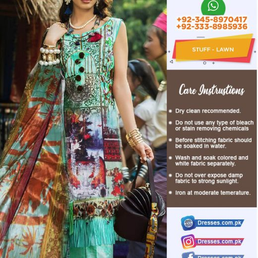 Ayesha Ibrahim Lawn Collection 2018