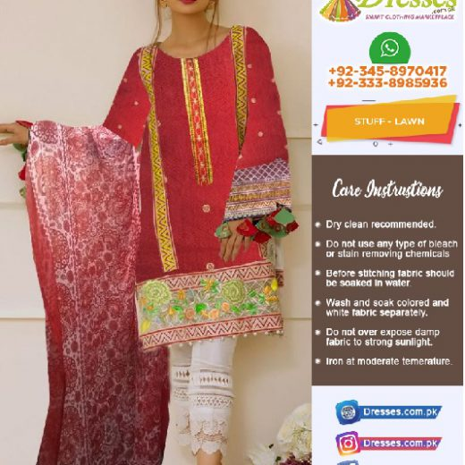 Anus Abrar Lawn Collection 2018