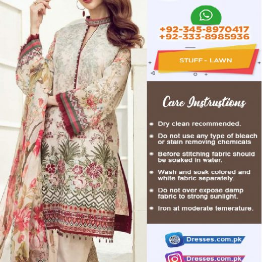 Baroque Lawn Eid Collection 2018