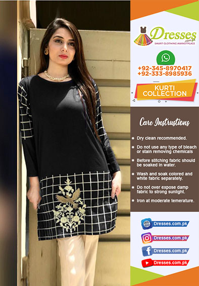 Agha Noor stitched kurtis