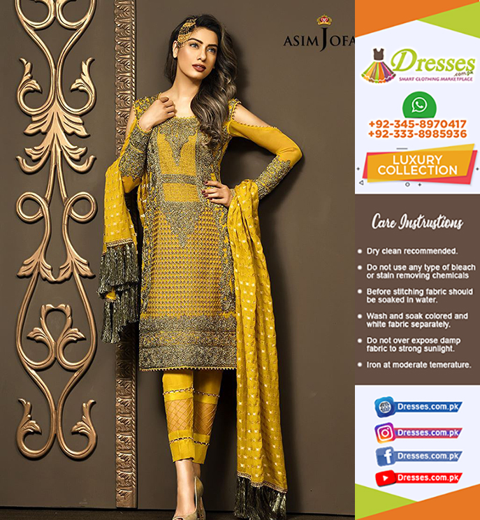 Asim Jofa Doriwork Collection 2018