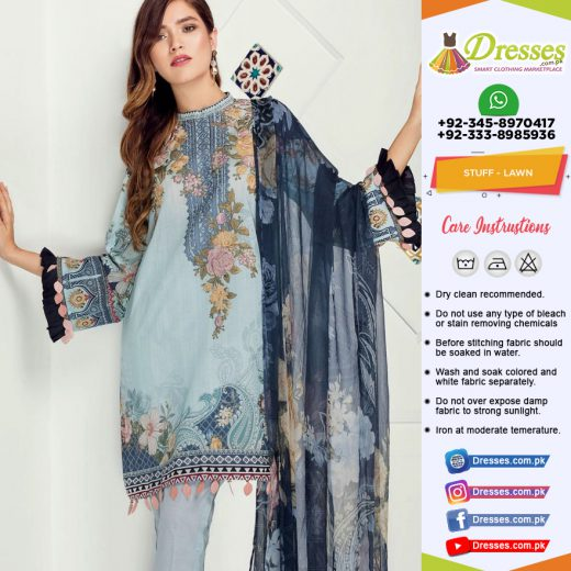 Baroque Lawn Collection 2018