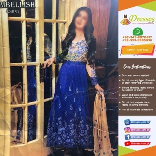 Embellish Bridal Frock 2018