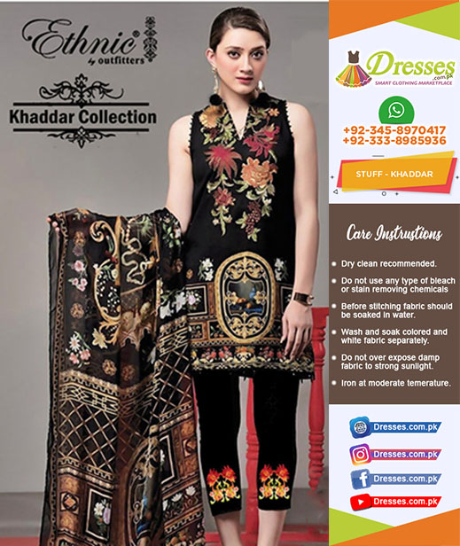 Ethinic Khaddar Collection 2018