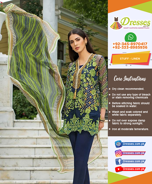 Gul Ahmed Lawn Collection 201