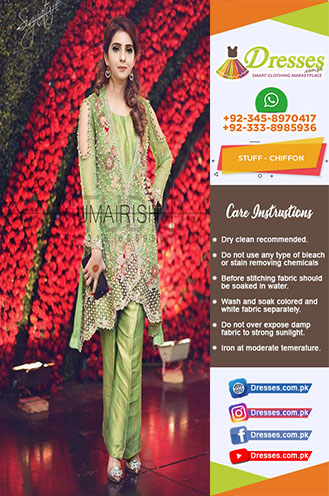 Irfan Ahsan Chiffon Collection 2018