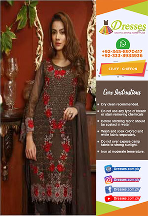 Maryam And Maria Chiffon Collection 2018