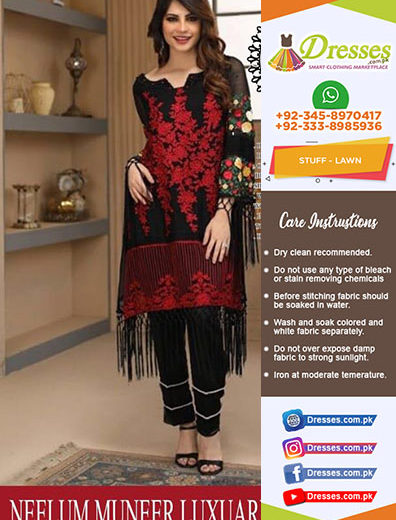 Neelum Muneer Lawn Collection 2018