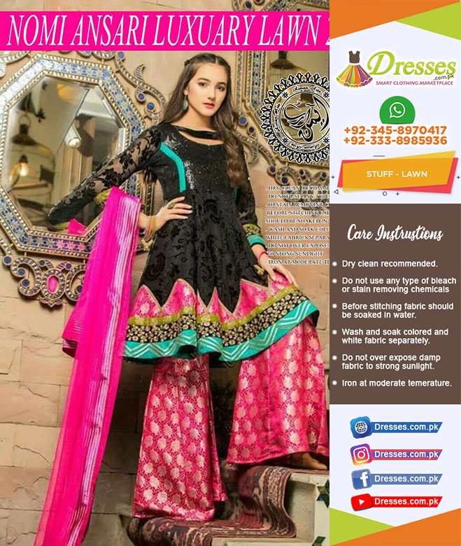 Nomi Ansari Lawn Collection 2018