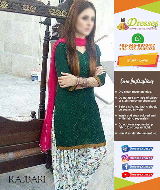 Rajbari Lawn Collection 2018