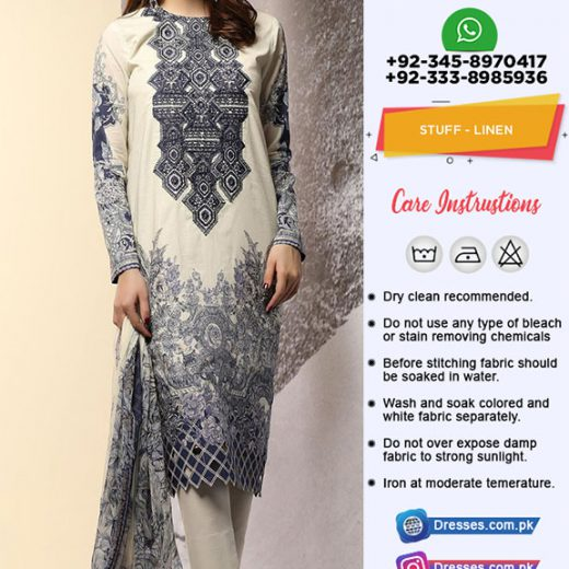 Al karam Linen Collection 2018